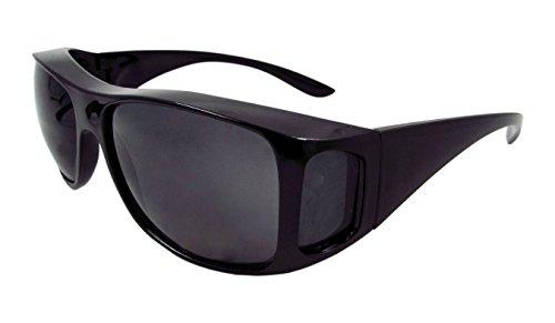 675a7edf028 ELLITE HD Clear Vision Wraparound Driving Sunglasses Wear Over Prescriptiom  Glasses Eyewear